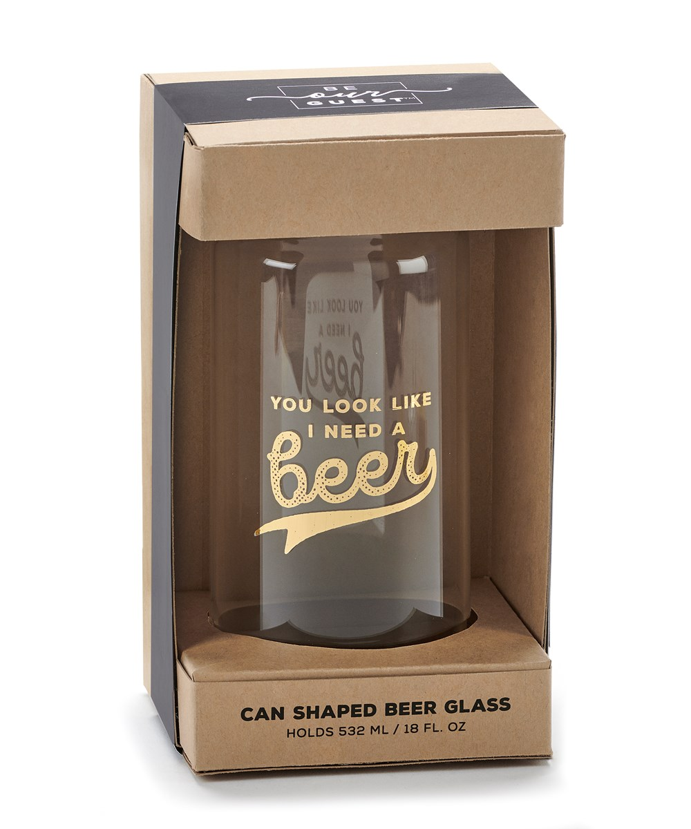 BeerCanGlassINeedABeer