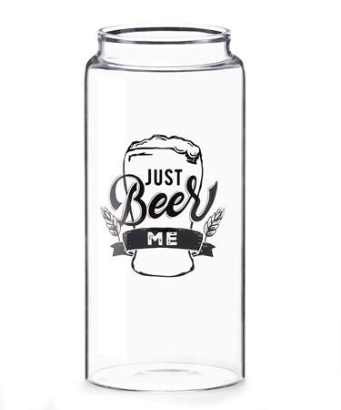 BeerCanGlassBeerMe