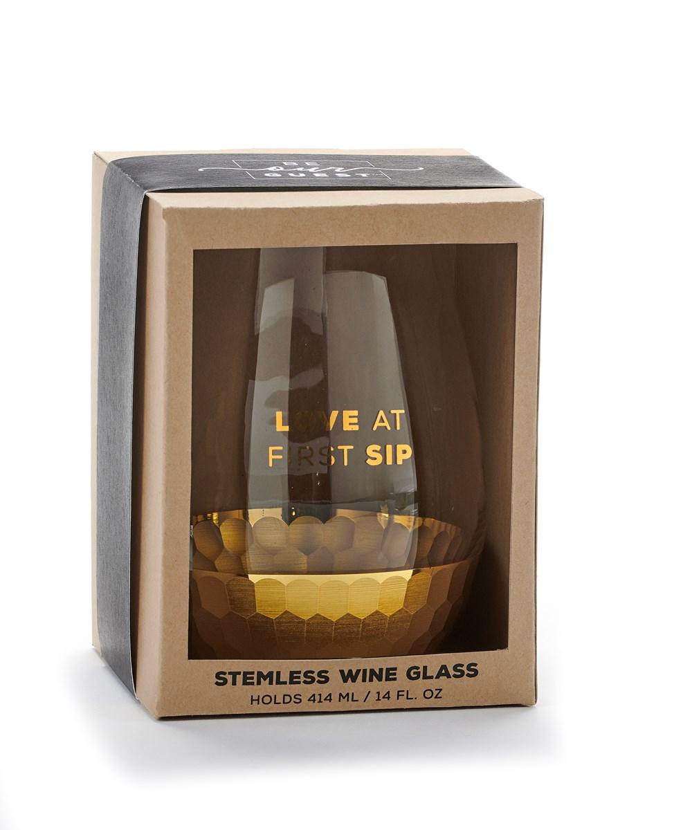 StemlessWineGlassFirstSip